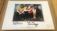 More details for the royle family large a3 cast photo signed by caroline aherne - ricky tomlinson