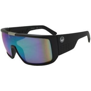 Dragon Domo LL Sunglasses - Matte Black w/ Green Ion Luma Lens 41997-015