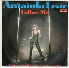 disco 45 GIRI Amanda LEAR FOLLOW ME - MOTHER: LOOK WHAT THEY'VE DONE TO ME