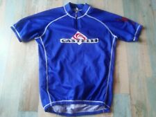 MAILLOT VELO CYCLISTE CASTELLI 3 POCHES TAILLE XL/5 TBE