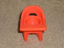 Fisher Price Little People Vintage Pink Baby High Chair