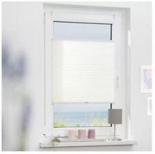 Lichtblick Klemmfix Pleated Blinds, White - 45 x 130cm