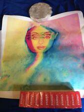 Charmaine Olivia Sunflower Chameleon Giclee Print Poster Signed #d /100 COA Rare
