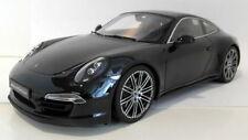 Véhicules miniatures noirs en résine pour Porsche