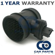 FOR VAUXHALL ASTRA G MK4 2.0 SRI TURBO PETROL 2002-02 MASS AIR FLOW SENSOR METER