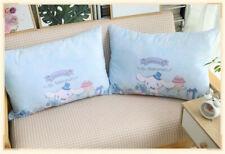 2PCS Cinnamoroll Cotton Pillow Case Cute For 74*48cm Pillow