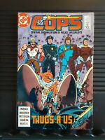 COPS #13  DC Comics Jun 1989 Central Organization of Police Specialists.
