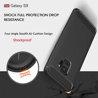 Shockproof Armor Rubber Anti-Slip Case Cover Shell For Samsung Galaxy A8 S9 Plus