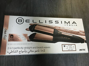 Bellissima My Pro 2 in 1 Straight and Waves Hair Styler, 4 Temperature Settings