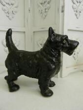 The Best Vintage Cast Iron Standing Scottie Dog Statue or Door Stop~Hubley Style
