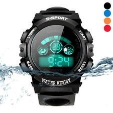 Children Watches Students Digital LED Quartz Alarm Sports Wrist Watch