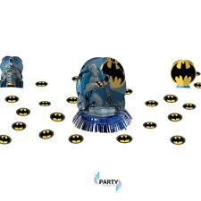 Batman Party Supplies TABLE DECORATING KIT With Confetti