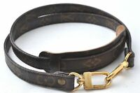"Authentic Louis Vuitton Monogram Brown Shoulder Strap 38.8"" LV B6636"