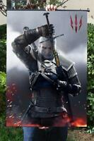 Anime Poster Game THE WITCHER 3 WILD HUNT Home Decor Wall Scroll Role Play 40*60