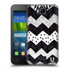 Étuis, housses et coques noirs graphiques pour téléphone mobile et assistant personnel (PDA) Huawei