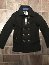 Superdry Wool Coats & Jackets for Men Peacoat