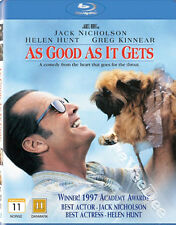 As Good as It Gets NEW Arthouse Blu-Ray Disc JL Brooks Jack Nicholson Helen Hunt