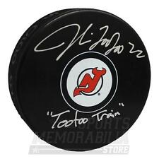 Jordin Tootoo New Jersey Devils Signed Autographed TooToo Train Inscribed Puck