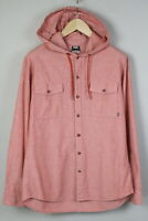 NIKE 6.0 SP120712EAG Men's MEDIUM Hooded Rose Casual Shirt 19328-JS