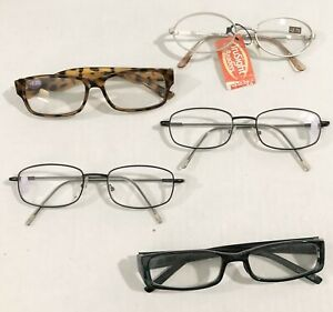 Reading Glasses +2.25 Assorted Brands (Lot of 5)