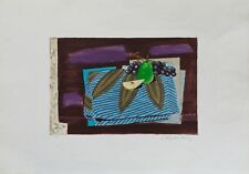 CHAPELAIN MIDY Litografia a Colori Firmata cm. 70x50 Es. 49/100