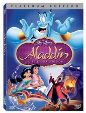 Aladdin Platinum Edition (DVD,2004-2Disc Set) With Outer Slipcover - Brand New
