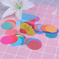 46pcs color aesthetics paper decor diy diary scrapbooking label sticker H.