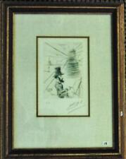 """Salvador Dali (Spanish, 1904-1989), """"Toulouse-Lautrec"""" self portrait e... Lot 15"""