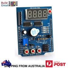 Multi function Shield For Arduino with Seven Segment Display