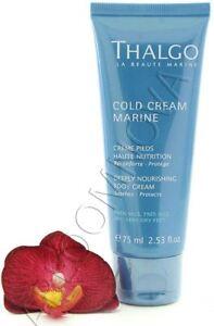 Thalgo Cold Cream Marine Deeply Nourishing Foot Cream 75ml
