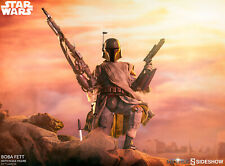 Sideshow 1/6th Scale Star Wars Boba Fett Mythos Collectible Figure In Stock New