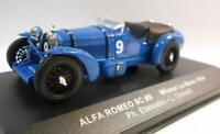 Ixo 1/43 Scale LM1934 ALFA ROMEO 8C #9 WINNER LE MANS 1934