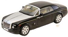 Rolls Royce Phantom Coupe Diamond Black 1:43 Scale Diecast Kyosho 05531DBK