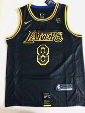 NBA La Lakers Black Mamba #8 #24 Kobe Bryant KB Stitch Jersey Swingman
