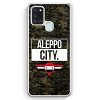 Aleppo City Camouflage Syrien Hülle für Samsung Galaxy A21s Motiv Design Syri...