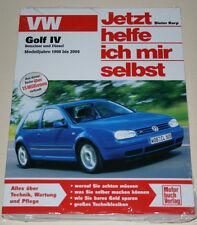 Reparaturanleitung VW Golf IV / 4 Benziner + Diesel TDI SDI, Baujahre 1998-2004