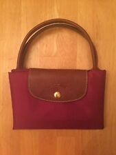 New Longchamp Le Pliage Medium Short Handle - Fuschsia (designer Color)