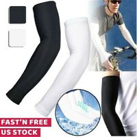 Cooling Arm Sleeves Cover UV Sun Protection Basketball Golf Outdoor Sport Unisex