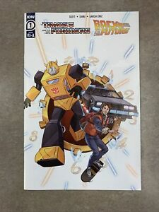 Transformers Back to the Future #1 1:10 RI Retailer Incentive Scheoning Variant