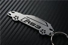 pour Audi RS3 Porte-clés Porte-clef TFSI Câble QUATTRO SPORTBACK voiture
