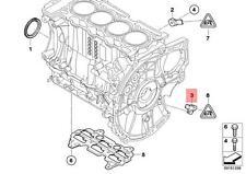 Genuine BMW F20 F20N F21 F21N Crankshaft Position Sensor CPS OEM 13627561753