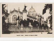 Buenos Aires Museo De Bellas Artes Argentina Vintage RP Postcard 597a