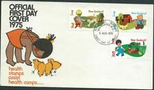 NEW ZEALAND - 1975 HEALTH ISSUE 'Farms' First Day Cover   [A0147]*
