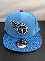 Tennessee Titans NFL New Era 9FIFTY Adjustable Snapback Hat Cap Carolina Blue