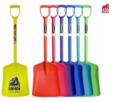 Tubtrug red gorilla strong ABS colourful plastic Muck garden shovel spade
