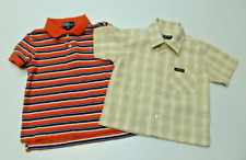 Polo Ralph Lauren Boys Size 3T Polo Shirt & Guess Size L Button Front Shirt
