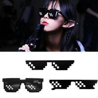 Thug Life Eye Glasses Glasses Eyewear Sunglasses 8 Bit Pixel Deal Unisex With IT