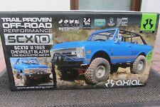 Axial SCX10 II 1969 Chevrolet Blazer 1/10 RC RTR AXID9058 2,4 GHz