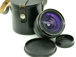 Nice Carl Zeiss Jena DDR MC Flektogon 20mm f2.8 M42 mount Wide angle Lens 2.8/20