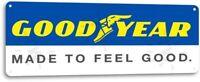 Good Year Tire Gas Service Station Garage Retro Auto Wall Decor Metal Tin Sign